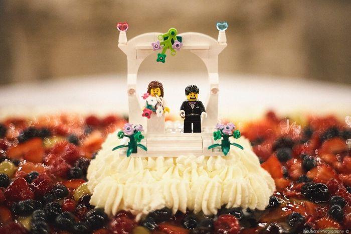 2 bodas, 2 cake toppers. ¿Cuál prefieres? 2
