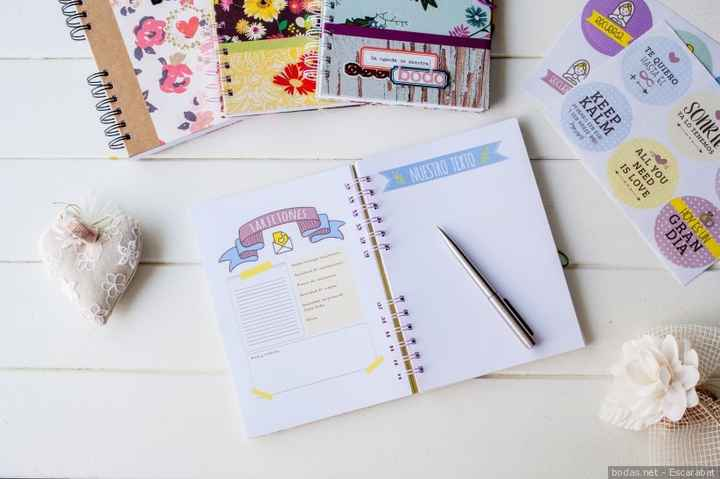 Agenda de tareas para la boda