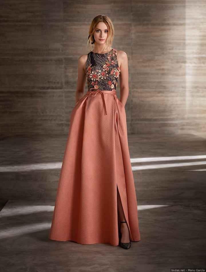 Vestido madrina Manu García 2019