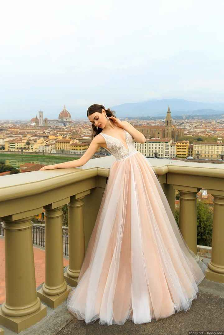 Vestido novia color