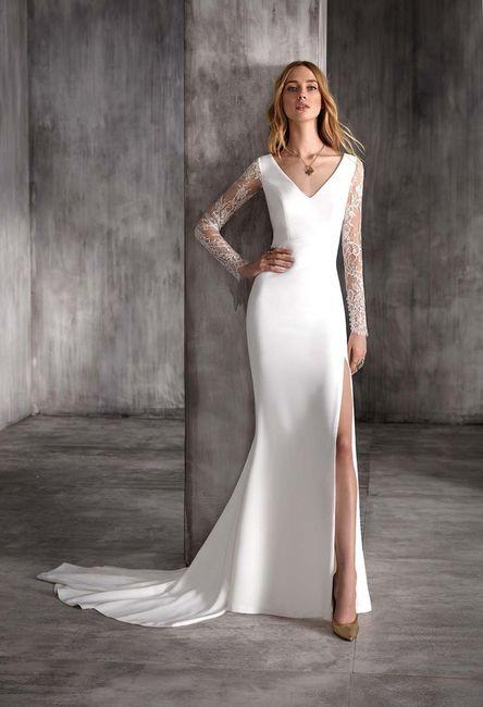 Qué vestido eliges: ¿A o B? 2