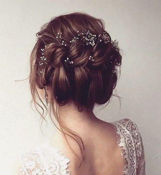 Peinados novia despeinados