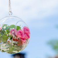 Decoración colgante boda