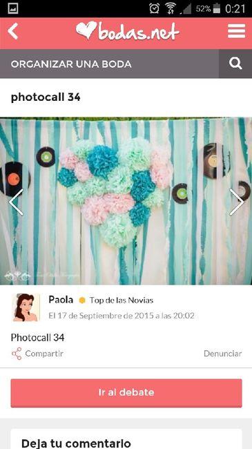 Crear tu propio photocall - 1
