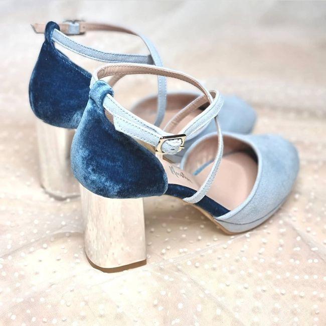 Sos zapatos azules 1