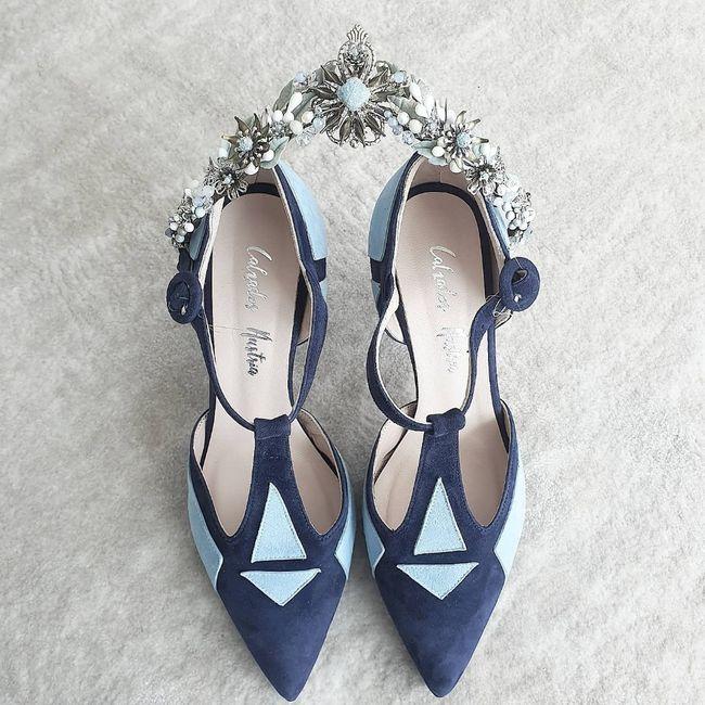 Sos zapatos azules 2