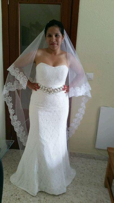 Vestidos de boda bonitos y baratos