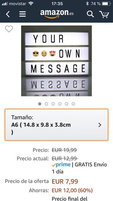 Oferta Flash Amazon lightbox - 1