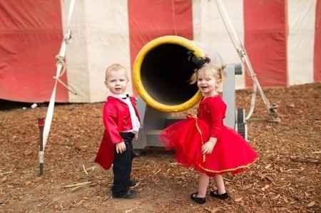 niños circo