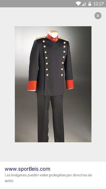 traje gran gala guardia civil - moda nupcial - foro bodas
