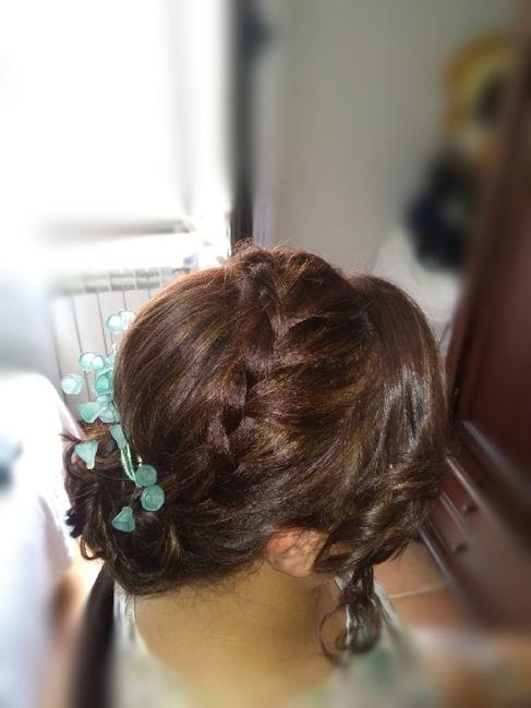 Qué os parece mi peinado? 1