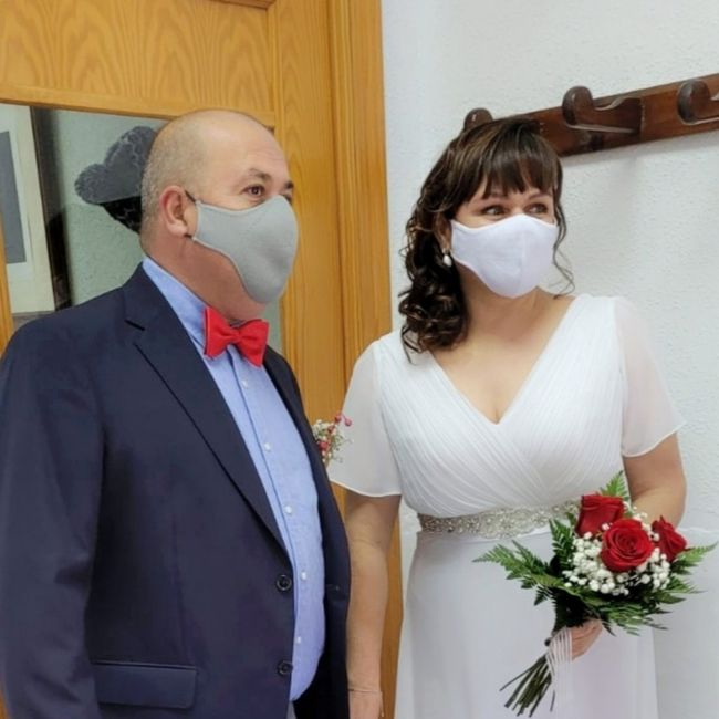 Nuestra boda civil, celebración aplazada 09/10/21 2