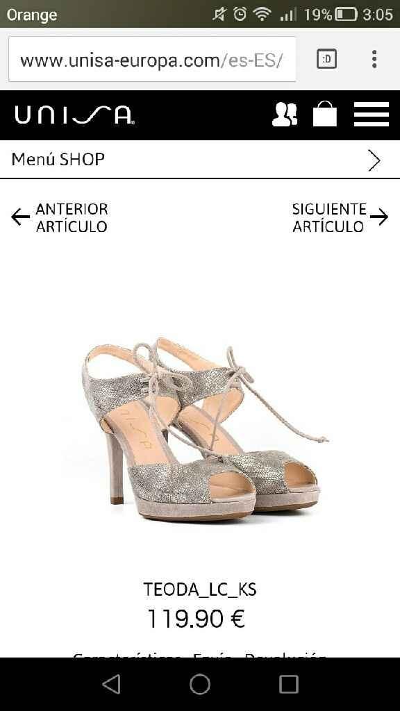 Zapatos unisa tupa - 1