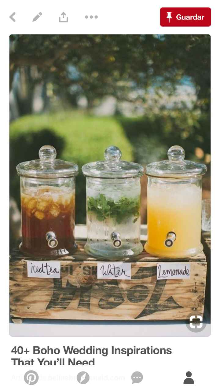 Dispensadores de bebida - 1