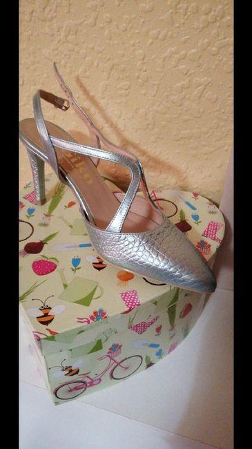 Zapatos de novia de colores 2