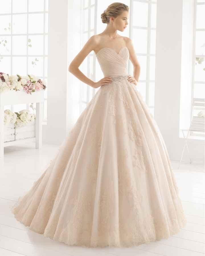 Vestido novia de color rosa? - 1