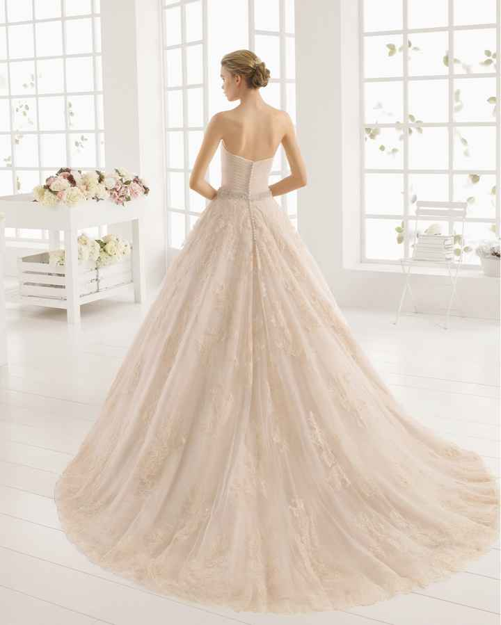Vestido novia de color rosa? - 2