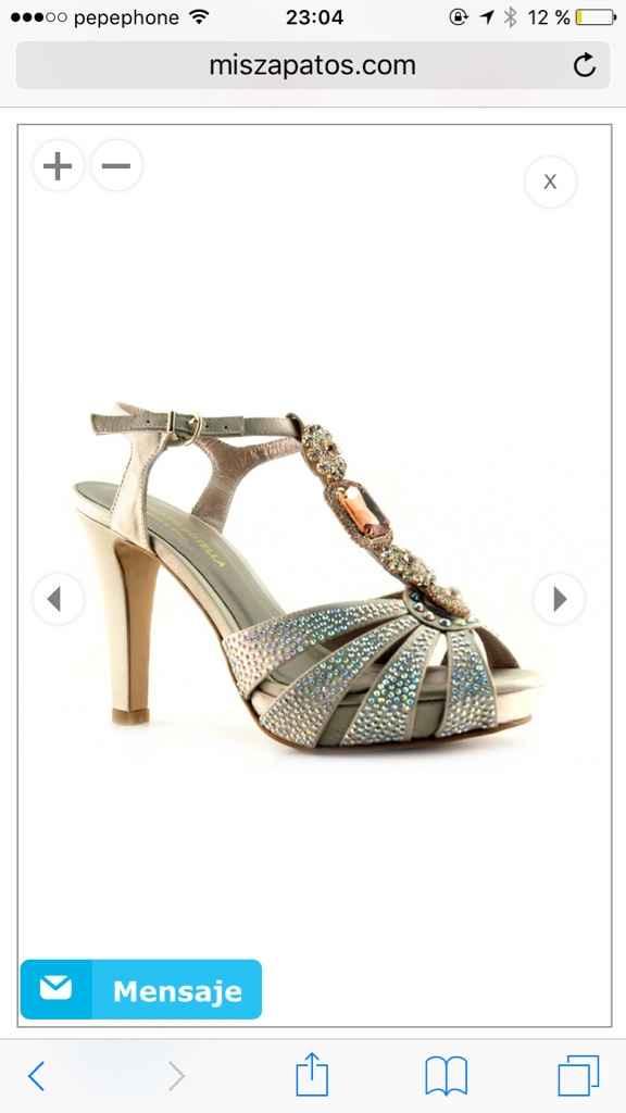 Busco estos zapatos o algo parecido - 1