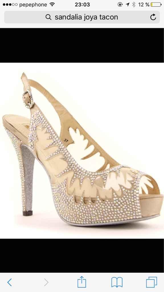 Busco estos zapatos o algo parecido - 2