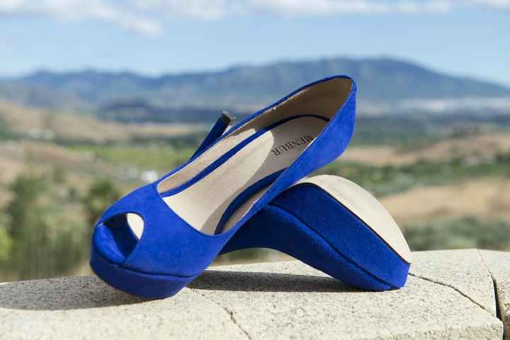 Nuestros zapatos menbur!! - 1
