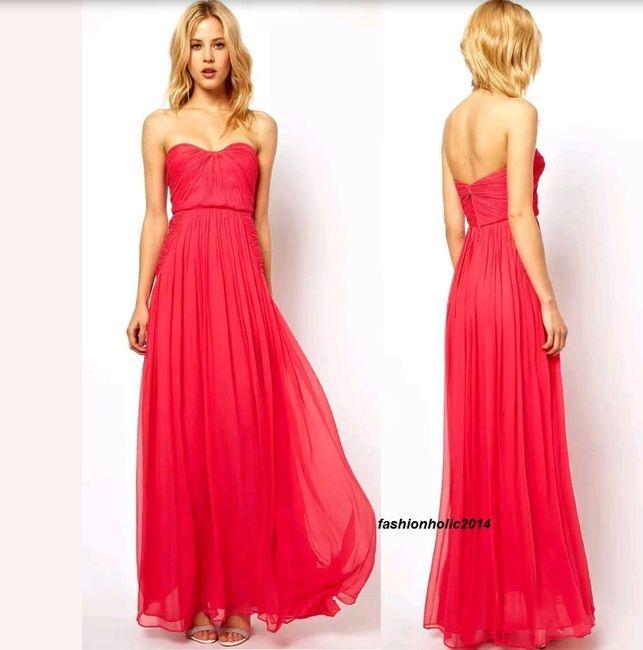 0fd268a6a Que vestido pondríais a una madrina joven   - Antes de la boda ...