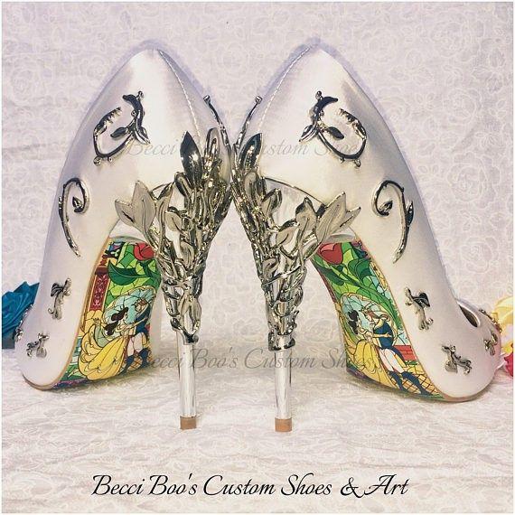 Zapatos bella y bestia 1