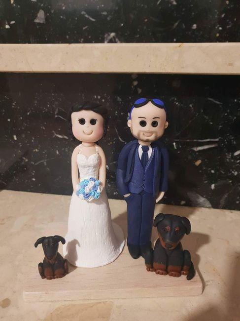 Muñecos para tarta de boda - 1