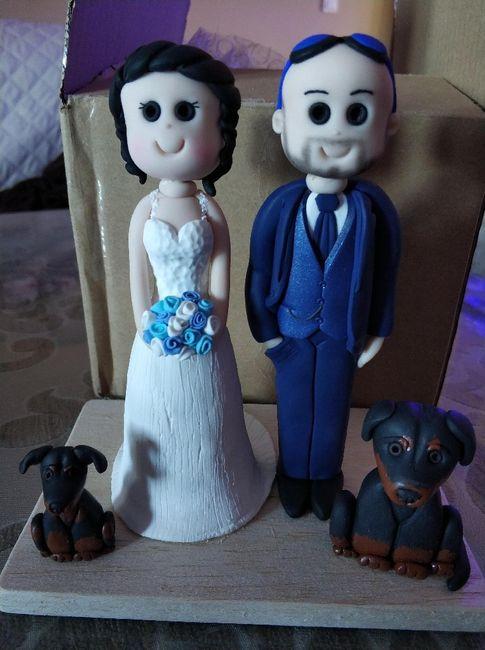Muñecos de tarta personalizados. 1