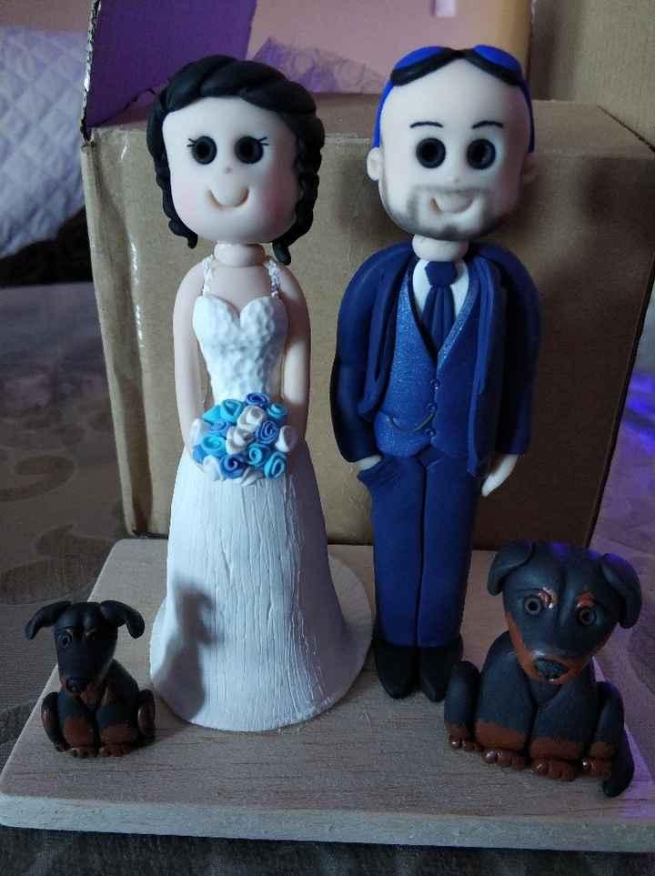 Muñecos para la tarta 😍 - 1