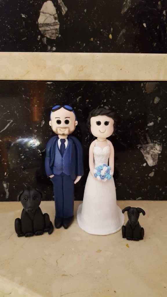 Figuras tarta boda - 1