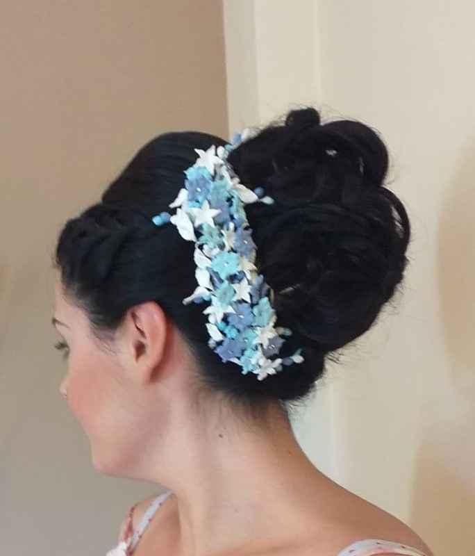 El peinado de mi boda 😍 - 1