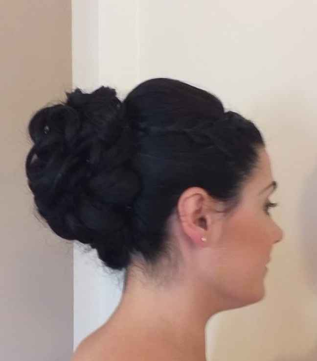 El peinado de mi boda 😍 - 2