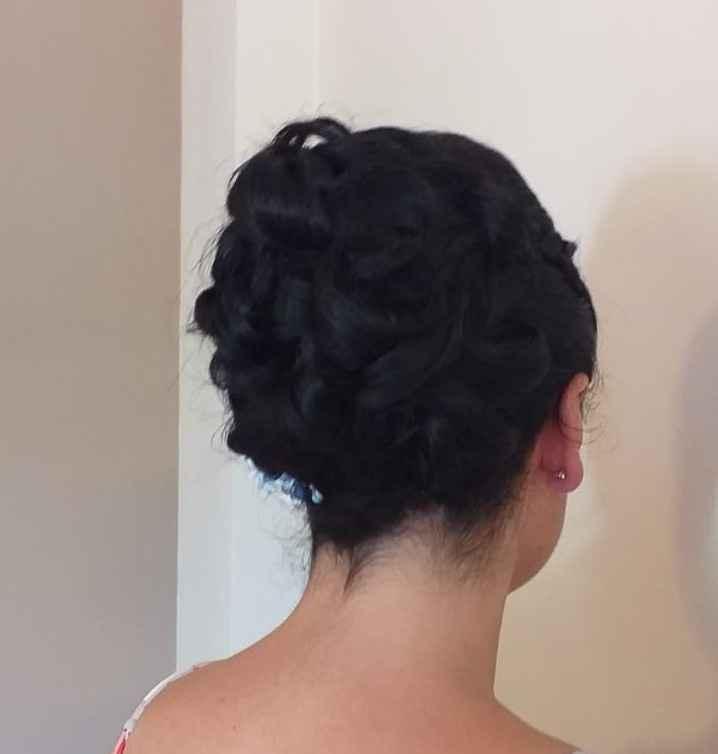 El peinado de mi boda 😍 - 3