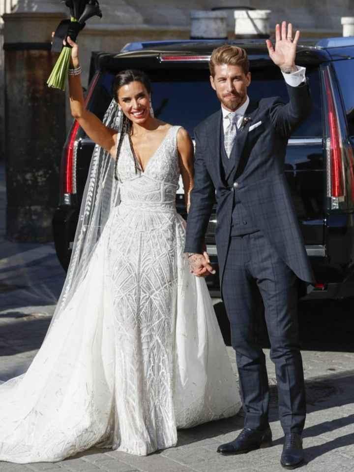 Una de looks de novias famosas 1