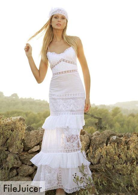 vestido de novia ibicenco barato