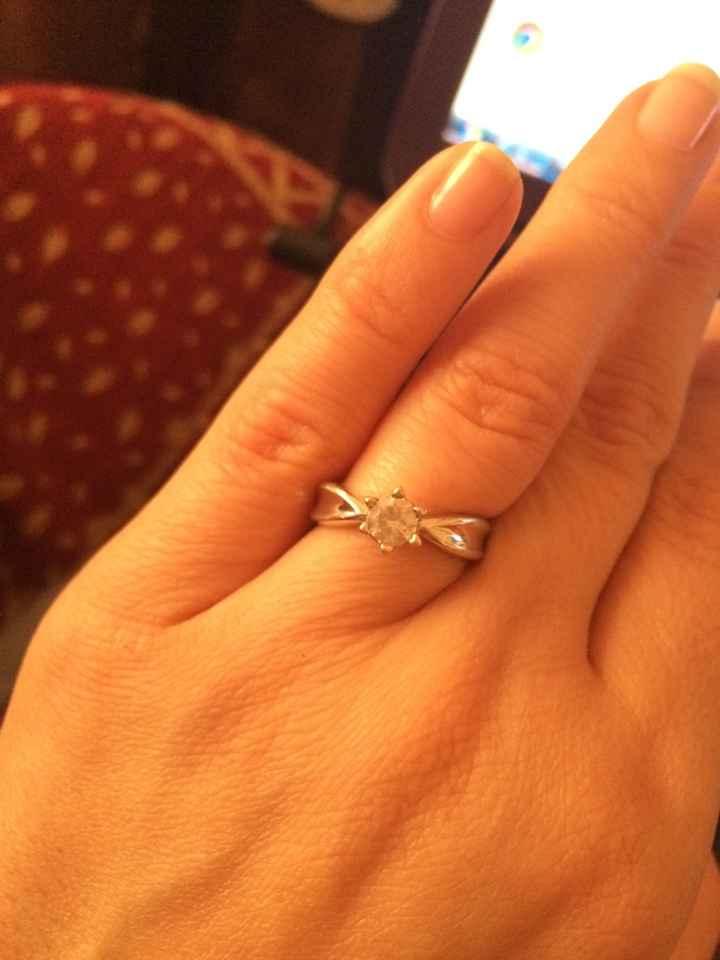 Nuestros anillos de compromiso... - 7