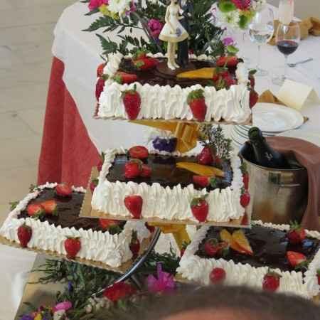 Tartas de boda tradicionales no fondant - 1