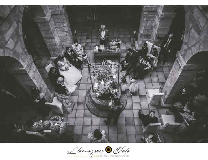 Hotel San roque en la ceremonia