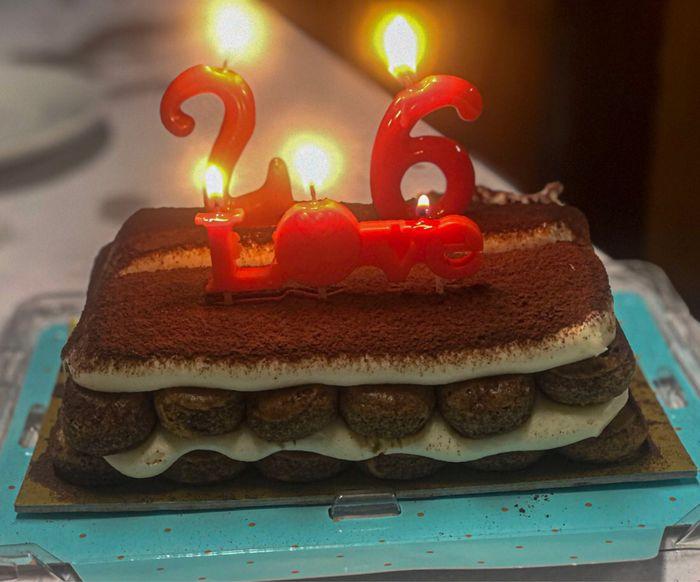 Terminando mi cumpleaños!🥂🎂 - 1