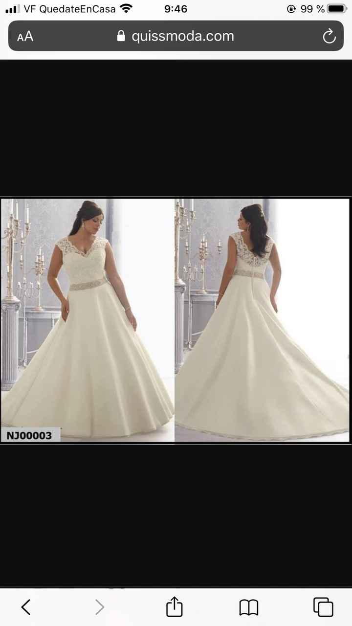 Vestido de novia: lluvia de ideas - 1