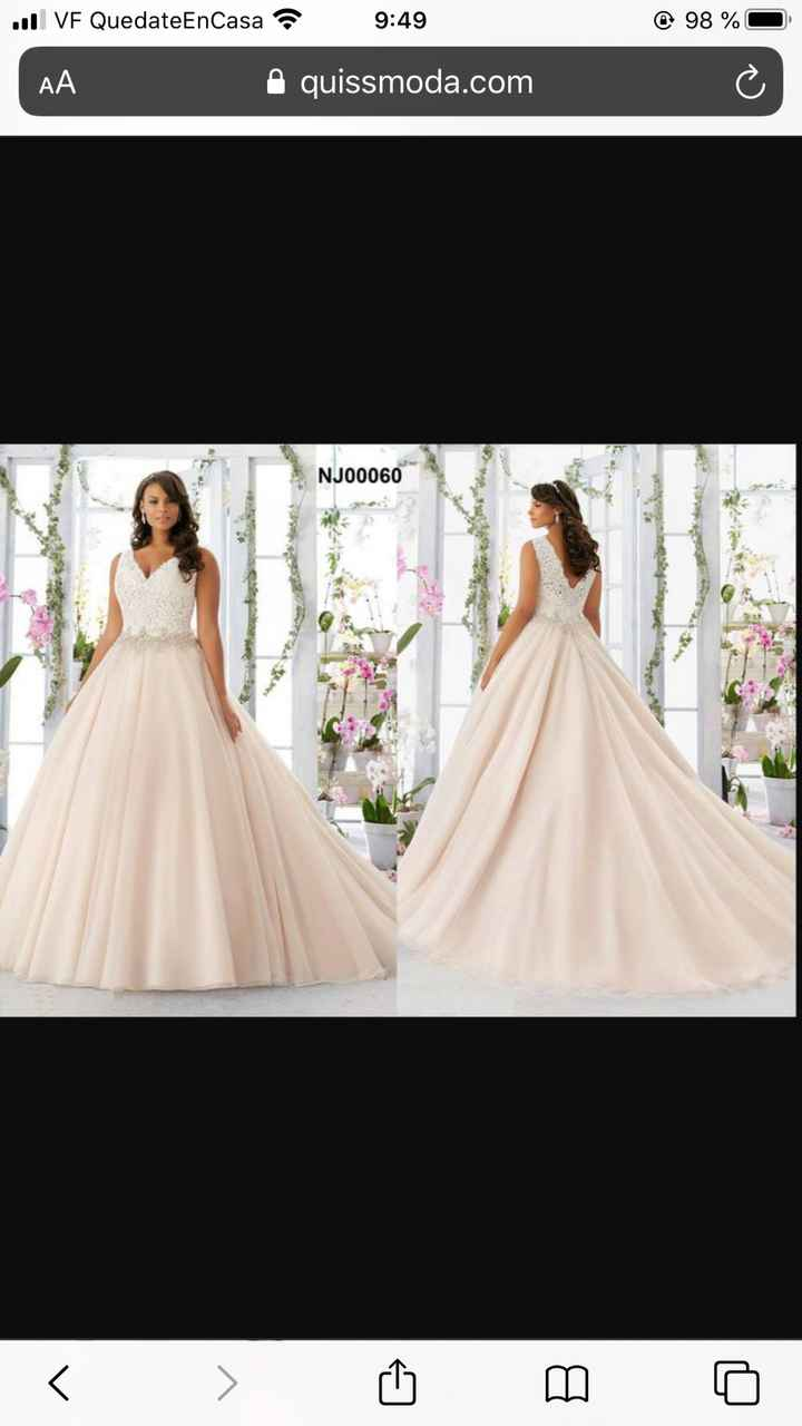 Vestido de novia: lluvia de ideas - 3