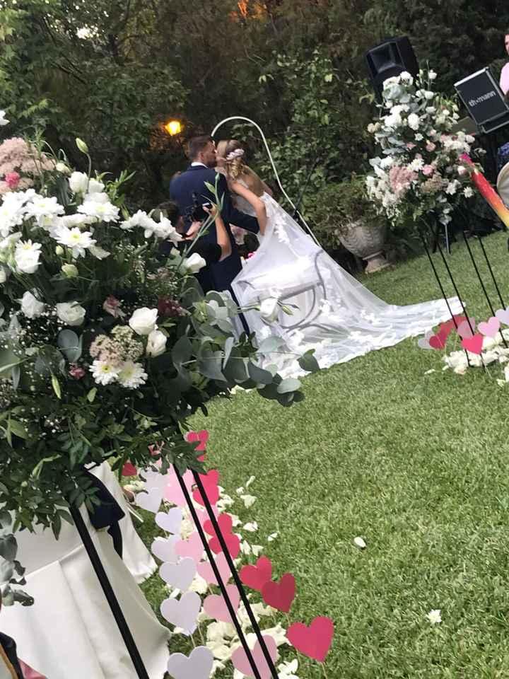 Ya estamos casados, ayer fue nuestro día - 5