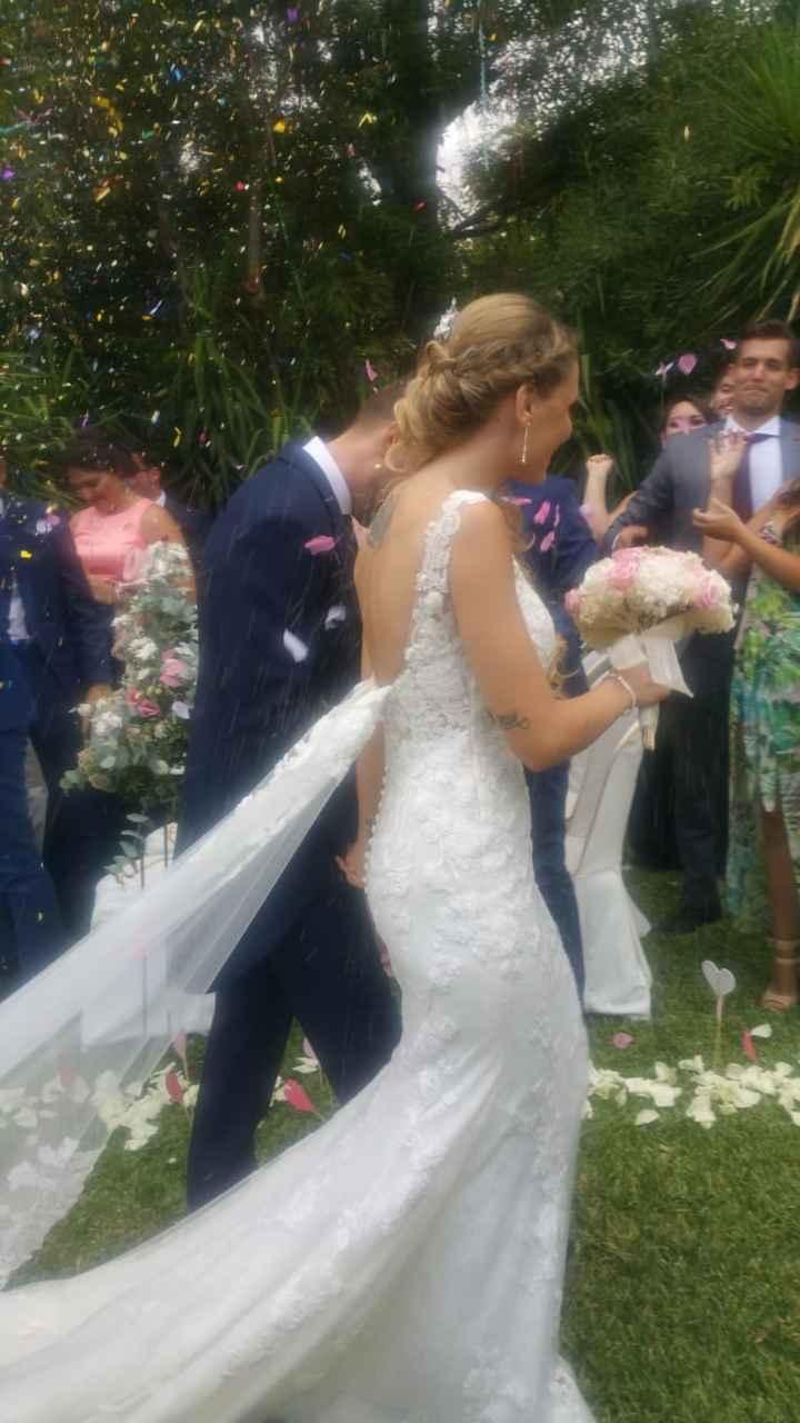 Ya estamos casados, ayer fue nuestro día - 9