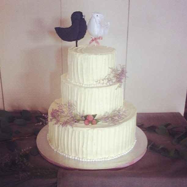 Pajaritos para el pastel