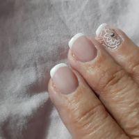 Mis uñas para el dia de b..😍 - 1