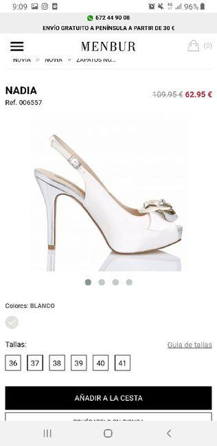 Zapatos novia. 1