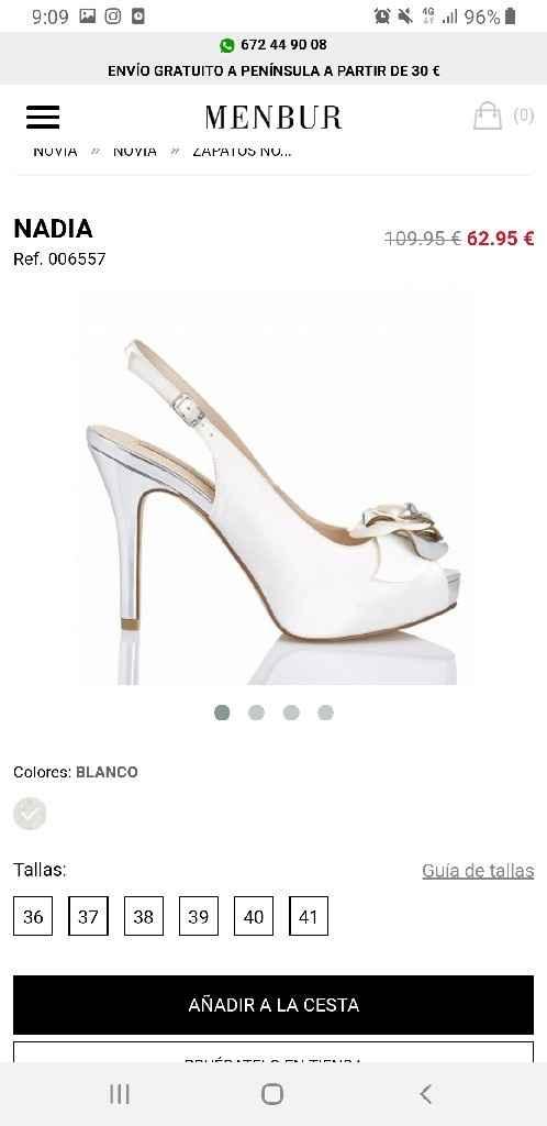 Zapatos novia. - 1