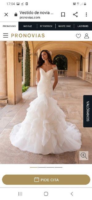 Precio del vestido de novia 1
