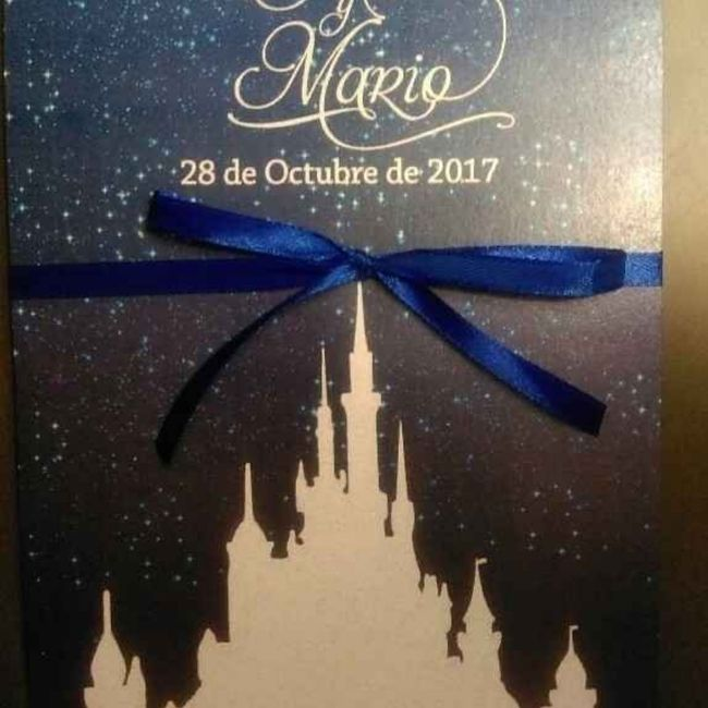 Ideas para invitaciones Disney 2