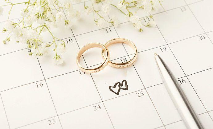 ¿A cuántos meses de la boda estáis? 1